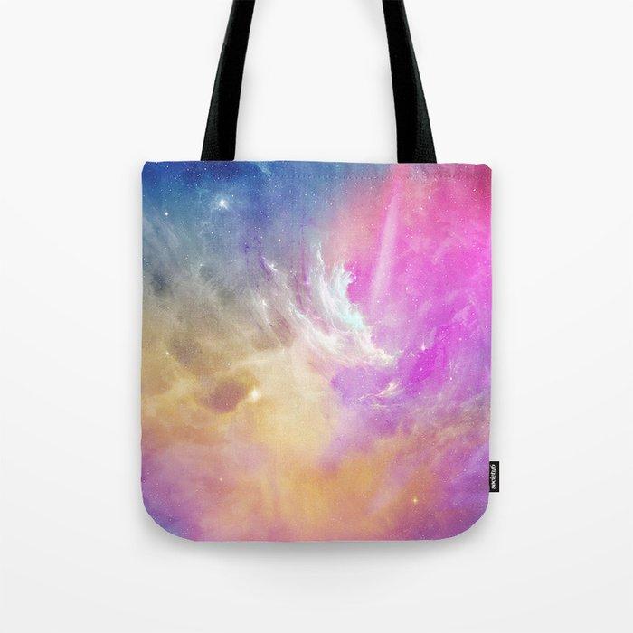 Galactic waves Tote Bag