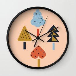 Jeune Arbre Wall Clock