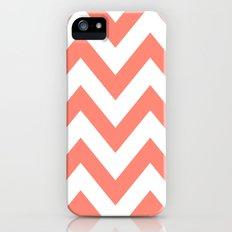 CORAL CHEVRON Slim Case iPhone (5, 5s)