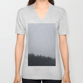 Cloudy Morning Unisex V-Neck