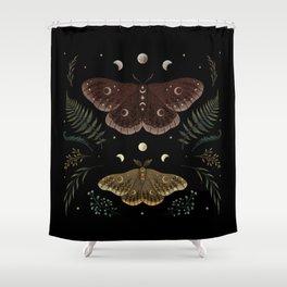 Saturnia Pavonia Shower Curtain