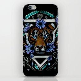 Powerful Tiger  iPhone Skin