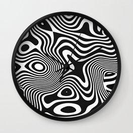 Melt Down Wall Clock