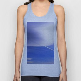 The shadow of the contrail Unisex Tank Top
