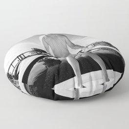 Black Pool Bare Floor Pillow