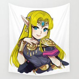 Zelda from Super Smash Bros Ultimate Wall Tapestry