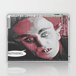 "'Count Orlock, the Vampire #2' from "" Nosferatu vs. Father Pipecock & Sister Funk (2014)"" Laptop & iPad Skin"
