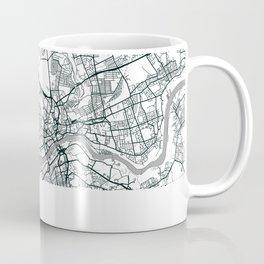 Newcastle Upon Tyne, United Kingdom - City Map Coffee Mug