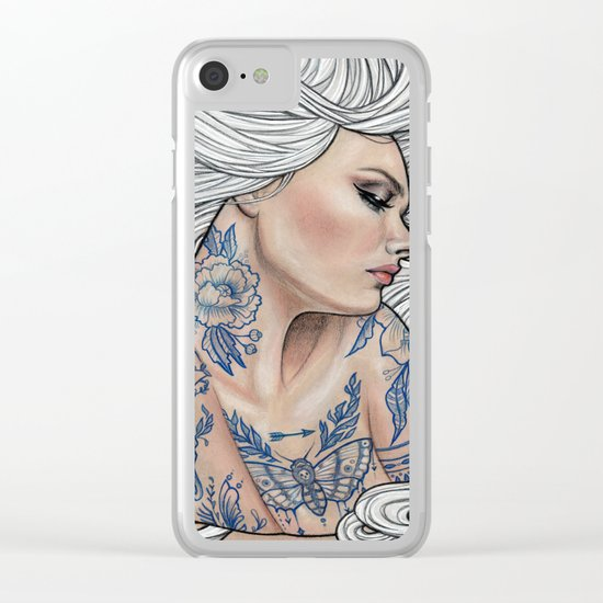 Inked Clear iPhone Case
