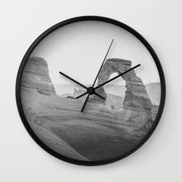 DELICATE ARCH IV / Utah Wall Clock