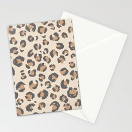 Animal Print Home Decor in Faded Tan by Erin Kendal Stationery Cards
