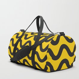 Yellow Ripple Duffle Bag