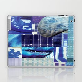Collage - Just Blue Laptop & iPad Skin