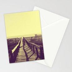 Man walking Stationery Cards