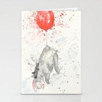 eeyore Stationery Cards featuring Eeyore by Makenna Raye
