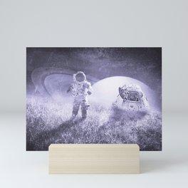 Space Explorer Mini Art Print