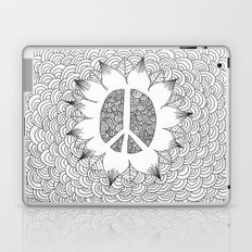 Peace Doodle Laptop & iPad Skin