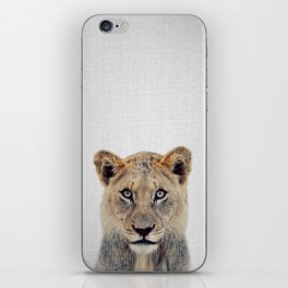 Lioness II - Colorful iPhone Skin