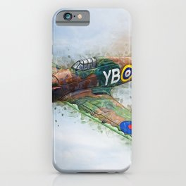 Hawker Hurricane Mk II iPhone Case