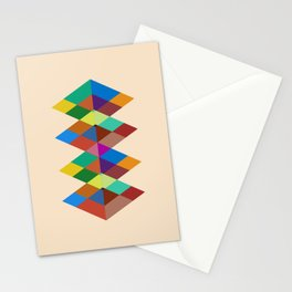 Abstract #721 Stationery Cards