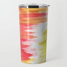 Color Wash Aztec Rug Travel Mug
