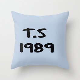 T.S 1989 IPhone Case Throw Pillow