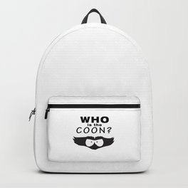 Who is the Coon? Backpack