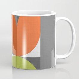 Mid Modern Geometric Bloom Coffee Mug