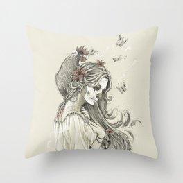 Maman Brigitte Throw Pillow