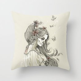 Maman Brigitte Throw Pillow