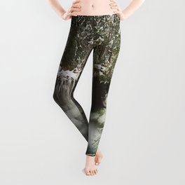 Winter Wanderlust Waterfall Leggings