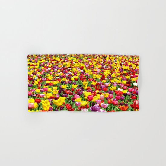SEA OF TULIPS Hand & Bath Towel