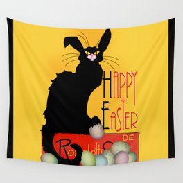 Le Chat Noir - Easter Wall Tapestry