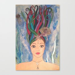 Daughter of the Deep Canvas Print
