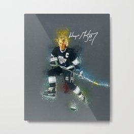 Walter Gretzky Metal Print