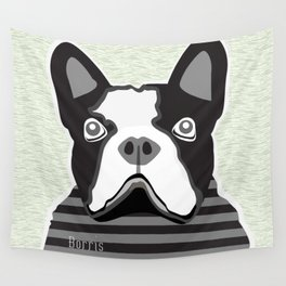 borris the french bulldog Wall Tapestry