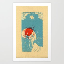 La Ola Art Print
