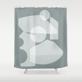 Shape study #30 - Inside Out Collection Shower Curtain
