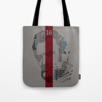 lincoln Tote Bags featuring Lincoln by TheMaddhattR