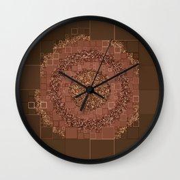 (Was) Green Mold Mandala 3 Wall Clock