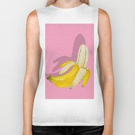 Pop Art Banana Biker Tank
