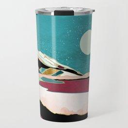 Teal Sky Travel Mug
