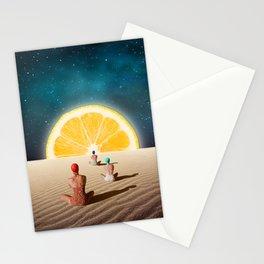 Desert Moonlight Meditation Stationery Cards