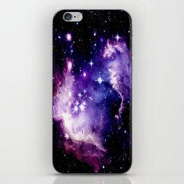 Galaxy .  Deep Purple & Blue iPhone Skin