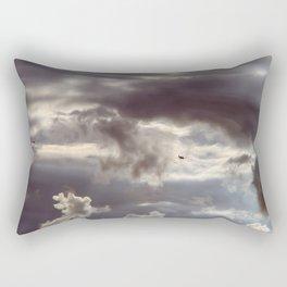 Twisted Cloud Rectangular Pillow