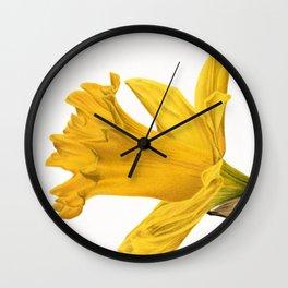 Herald Of Spring Wall Clock