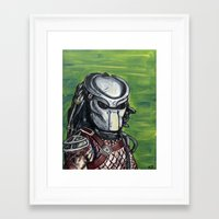 predator Framed Art Prints featuring Predator by MSG Imaging
