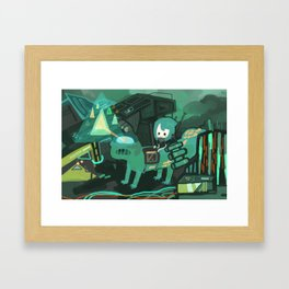 tland Framed Art Print