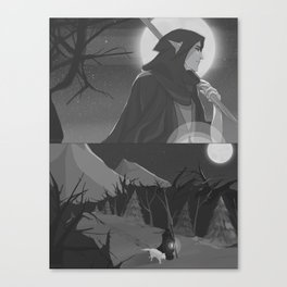 The Hermit (2) Canvas Print