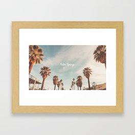 The Strand Palm Springs, California Framed Art Print